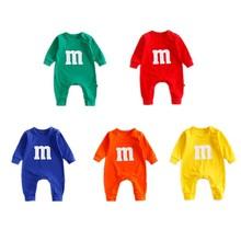 Rompers Baby Jumpsuits Body Baby-Boy-Girl Long-Sleeve Bebe Printing Newborn-Baby Infant
