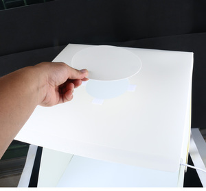 Image 5 - 40x40x40 cm תמונה תיבת סטודיו צילום רקע תאורה מובנה תמונה תיבת קטן פריטים צילום תיבת סטודיו אבזרים