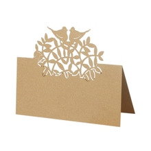 Place-Cards Table Wedding Name Guest 50PCS Party