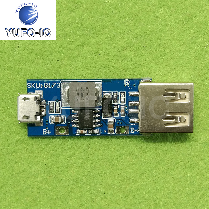 Free Ship 1PCS DC-DC Boost Module 3v3.3v3.7v4.2v to 5v1ausb Mobile Power Charging Boost Module image