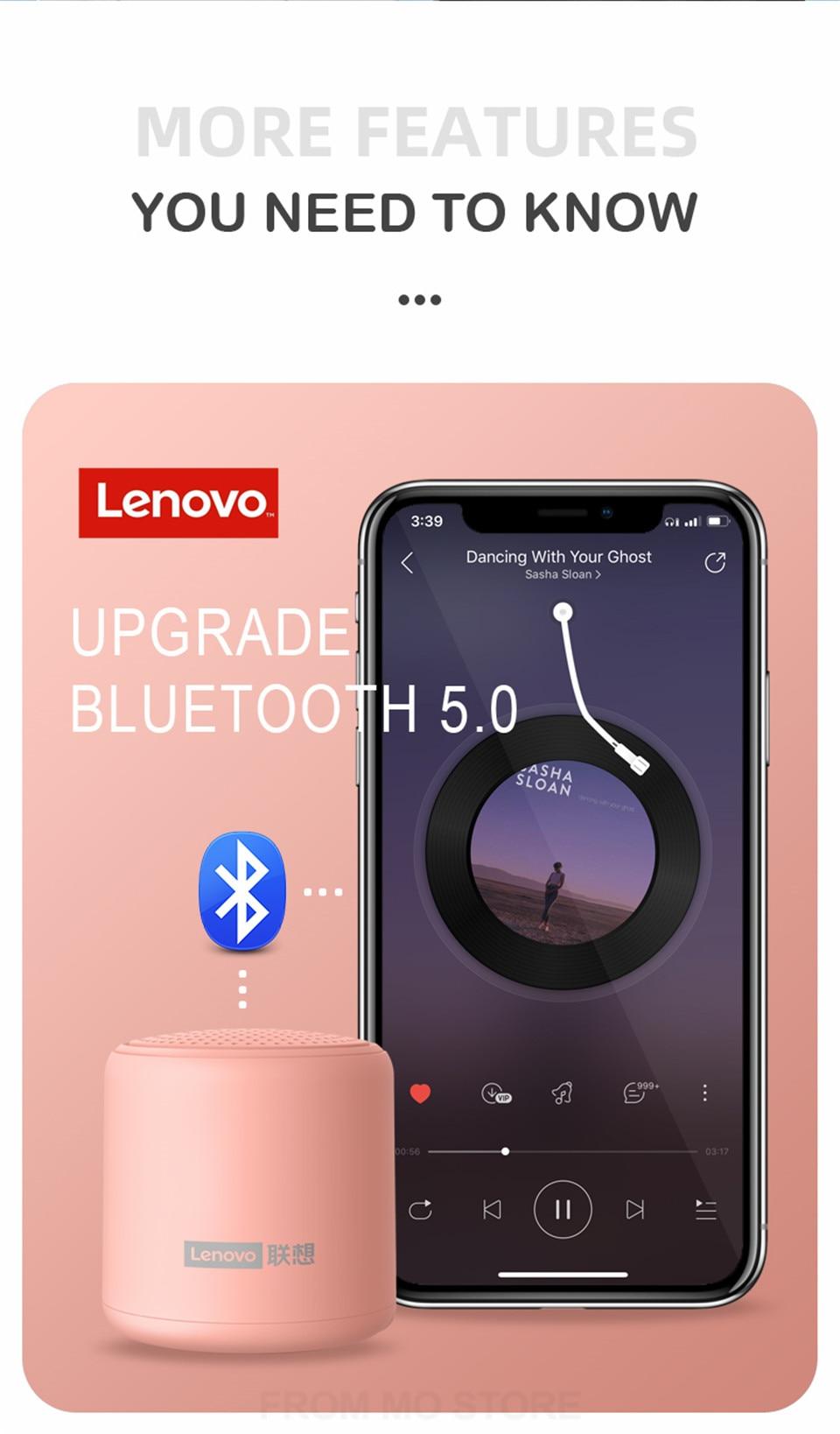 Lenovo L01 Colorful mini Speaker 10