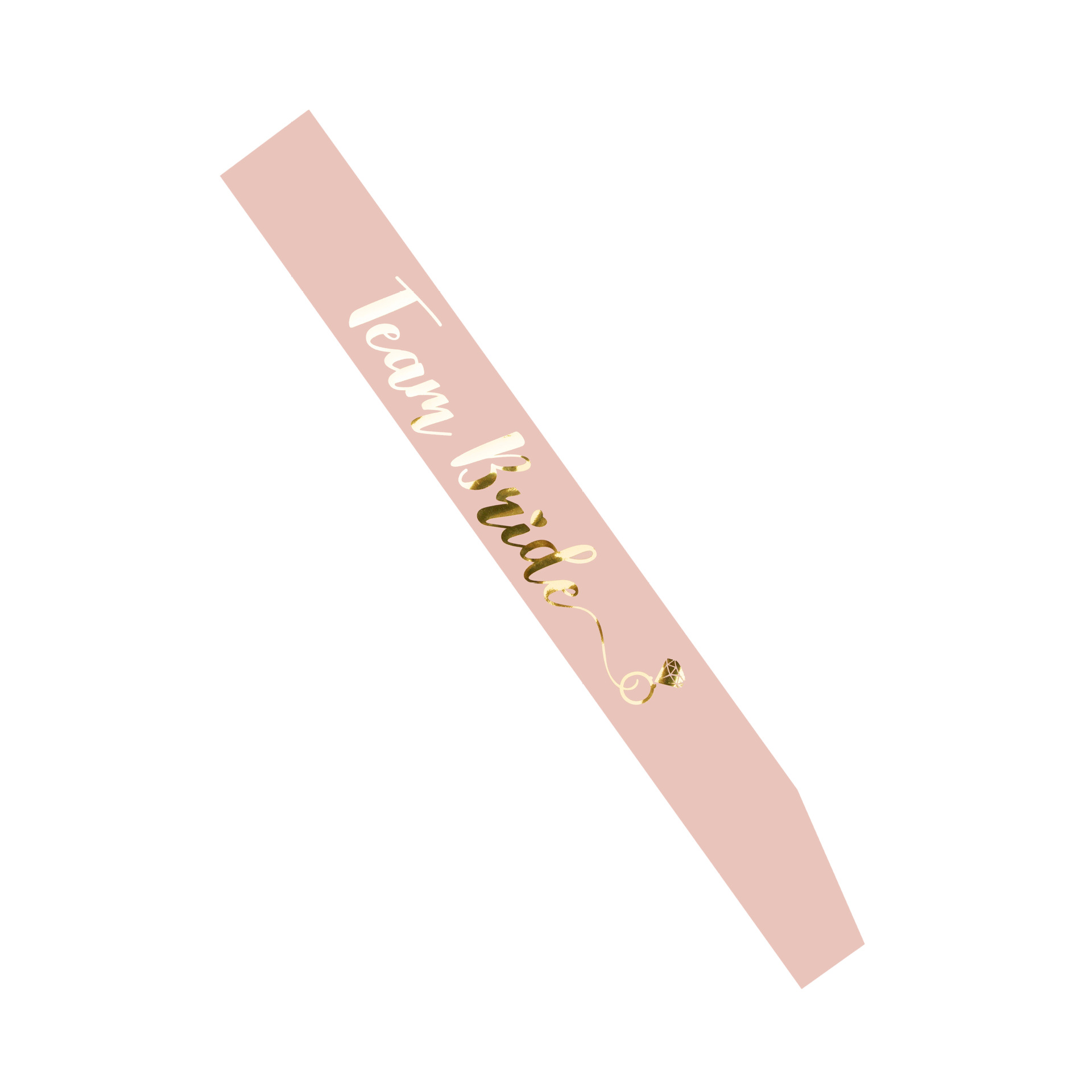 Image 3 - Bride to Be Sash with Team Bride for Hen Party Decoration Wedding Bridal Shower Gold Letter HW67Party DIY Decorations   -