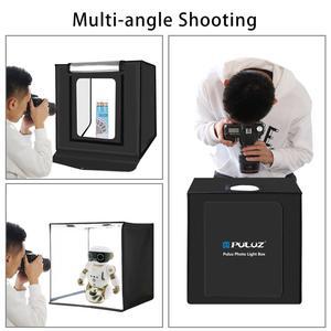 Image 4 - PULUZ 40*40cm 16inc Mini Photo Studio Box Lightbox Photograghy Softbox Led Photo Lighting Studio Shooting Tent Box Kit Light box