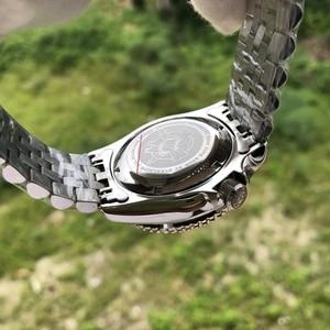 Image 5 - STEELDIVE 1996 SKX007 기계식 시계 NH35 사파이어 크리스탈 자동 시계 남자 316L 스틸 다이버 시계 200m 세라믹 베젤