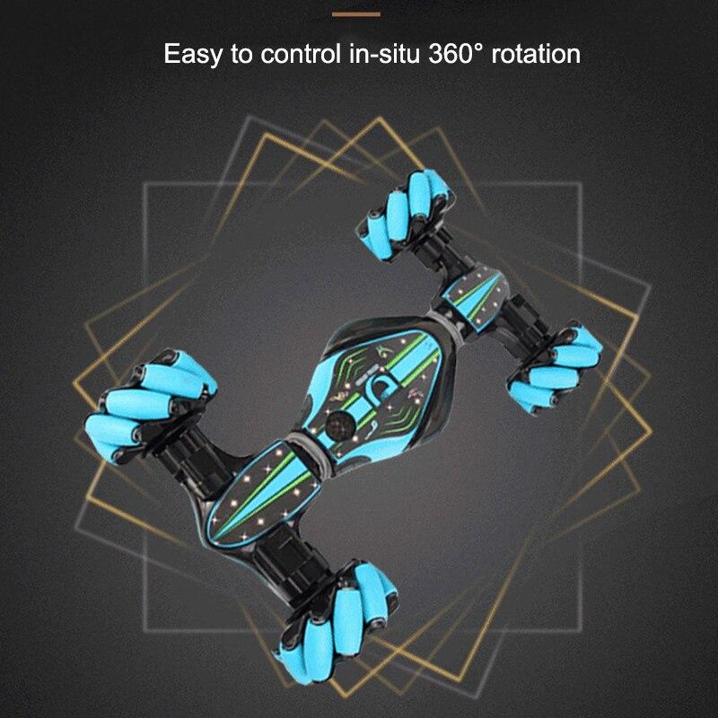 Weihnachten Stunt RC Auto Gesture Sensing Verdrehen Fahrzeug Drift Auto Fahren Spielzeug Geschenke SNO88 - 4