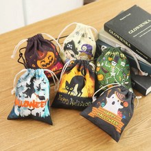 Cute Witches Candy Bag Funny Halloween Gift Bags Ho