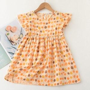 Menoea/Детские платья для девочек, коллекция 2021 года, детское летнее Повседневное платье без рукавов вечерние платья с рисунком животных для девочек возрастом от 2 до 7 лет