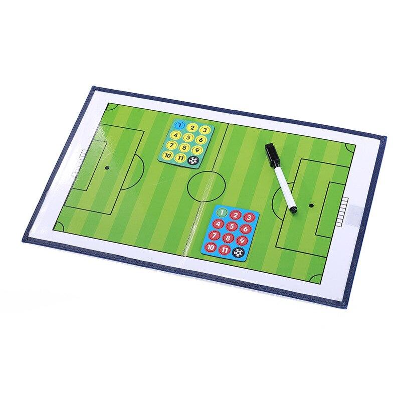 Футбольный матч командная версия Футбольная тактическая доска ci xing qi zi Складная тренерская доска