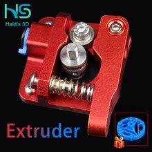 Extrusora MK8 de piezas de impresora 3D extrusora de bloques de aluminio de extrusora bowden de extrusión de filamento Ender 3 CR10