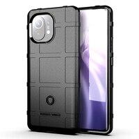 Para Xiaomi 11 Anti-Caída de teléfono caso para Mi POCO X3 NFC X2 M3 F1 8 9 9T 10 10 10 10T Lite Redmi Note9 9A 9S 9Pro a prueba de golpes a prueba de cubierta