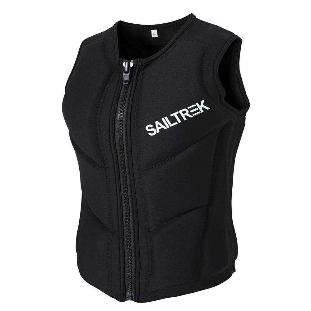 Crashworthy  Vest Neoprene Adult Black  Impact Vest