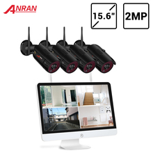 System Security-Camera ANRAN Monitor NVR Night-Vision 1080p-Video Outdoor HD