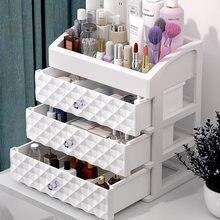 Organizador de maquiagem à prova dwaterproof água caso cosméticos caixa de jóias de maquiagem multifuncional organizador de viagem gaveta de armazenamento em casa boxs