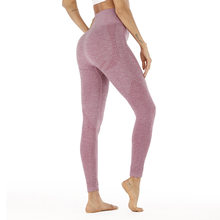 style lifting buttocks seamless yoga pants jacquard little high waist speed dry pants fitness sports underpants women net cloth(China)