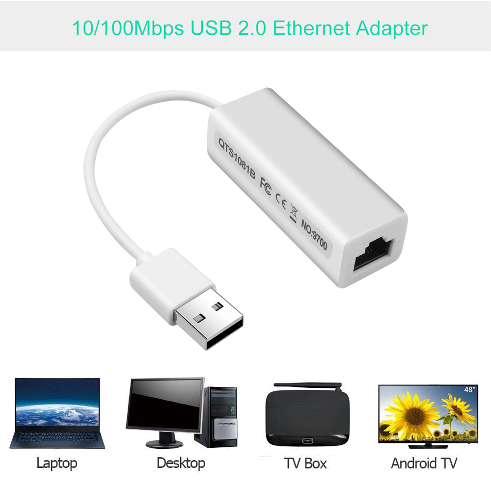 Image 4 - Kebidu USB to RJ45 Lan Adapter network Card RD9700 High Speed For Mac OS Android Tablet PC Laptop Windows XP 7 Promotional-in Network Cards from Computer & Office