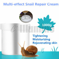 Multi effect Snail Repair Cream 1000g Lifting Tightening Moisturizing Skin Wrinkles Firming Cosmetics OEM
