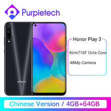 Honor Play 3 64GB 128GB Kirin 710 F Octa Core Smartphone 48MP AI Triple Cameras 6.39