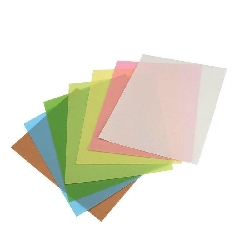 7 Pçs/set Lambendo Filme Folhas Variedade de Precisão para Polimento Lixa 1500/2000/4000/6000/8000/10000/12000 Grits