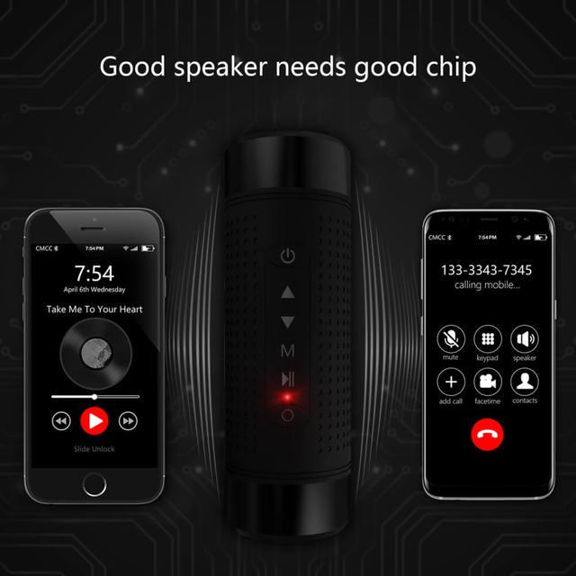 JAKCOM OS2 altavoz inalámbrico al aire libre Super valor como correos reloj mesa de som mezclador digital 18650 batería cargador caja banco de energía