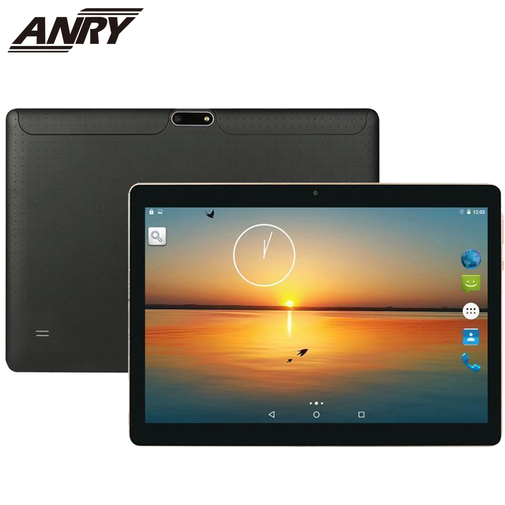 ANRY 102 Tablet Pc 10.1 Inch Android 7.0 Tablet Pc IPS Screen Quad Core 4GB RAM 32GB ROM Mini Pad Support Extend TF Card 3G Tab