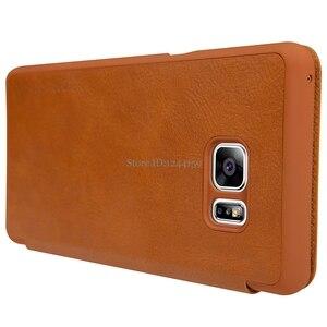 Image 4 - Nillkin For Samsung Galaxy Note FE Fan Edition Case Qin PU Flip Case For Samsung Galaxy Note FE Fan Edition Case Back Cover