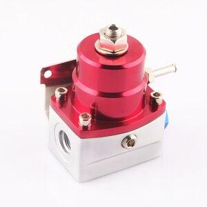 Image 3 - Regulador de pressão de combustível de alumínio preto e vermelho estilo an6 porto garantia de qualidade