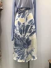 Женская юбка с высокой талией zosol новая летняя элегантная