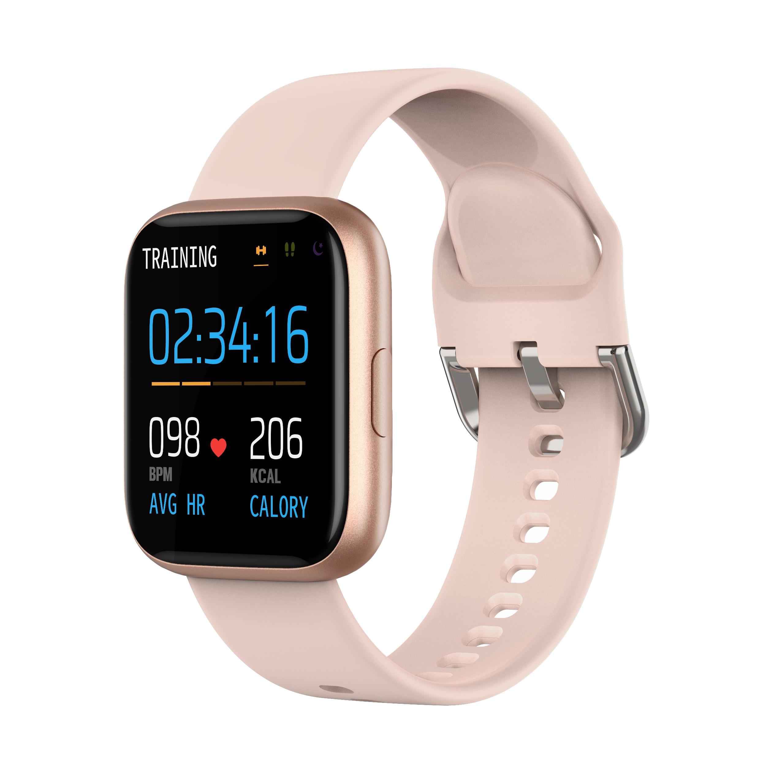KARUNO P6 Smart Watch Sport Digital Watch Women Blood Pressure Heart Rate Monitor Fitness Watch Waterproof Womens Watch Bracelet