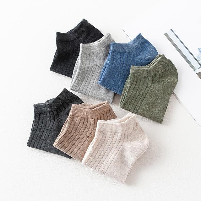 Носки женские хлопковые короткие однотонные 4