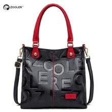ZOOLER 2019  Luxury Handbags Woman Bags Designer Genuine Lea