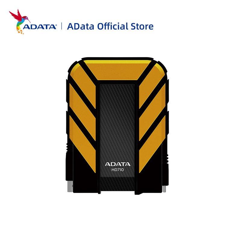 ADATA внешний жесткий диск USB 3,0 HD710 PRO 1 ТБ 2 ТБ 4 ТБ 5 ТБ 2,5 ''Портативный внешний жесткий диск HD для ноутбука или настольного компьютера