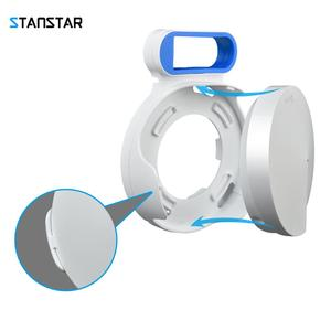 Image 2 - STANSTAR Wall Mount for TP Link Deco M5 Whole Home Mesh WiFi System,Space Saving Wall Holder Plug in Without Messy Wires