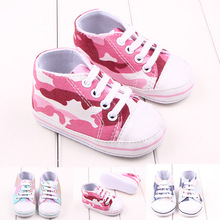 Toddler Baby Shoes Camouflage Sneaker Anti-slip Soft Sole To