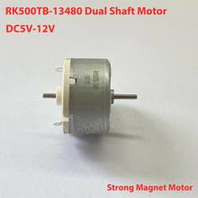 Motor bonde duplo do diâmetro do eixo 32mm do motor 6v-12v da c.c. da linha central RK500TB-13480 para varrer a máquina do robô
