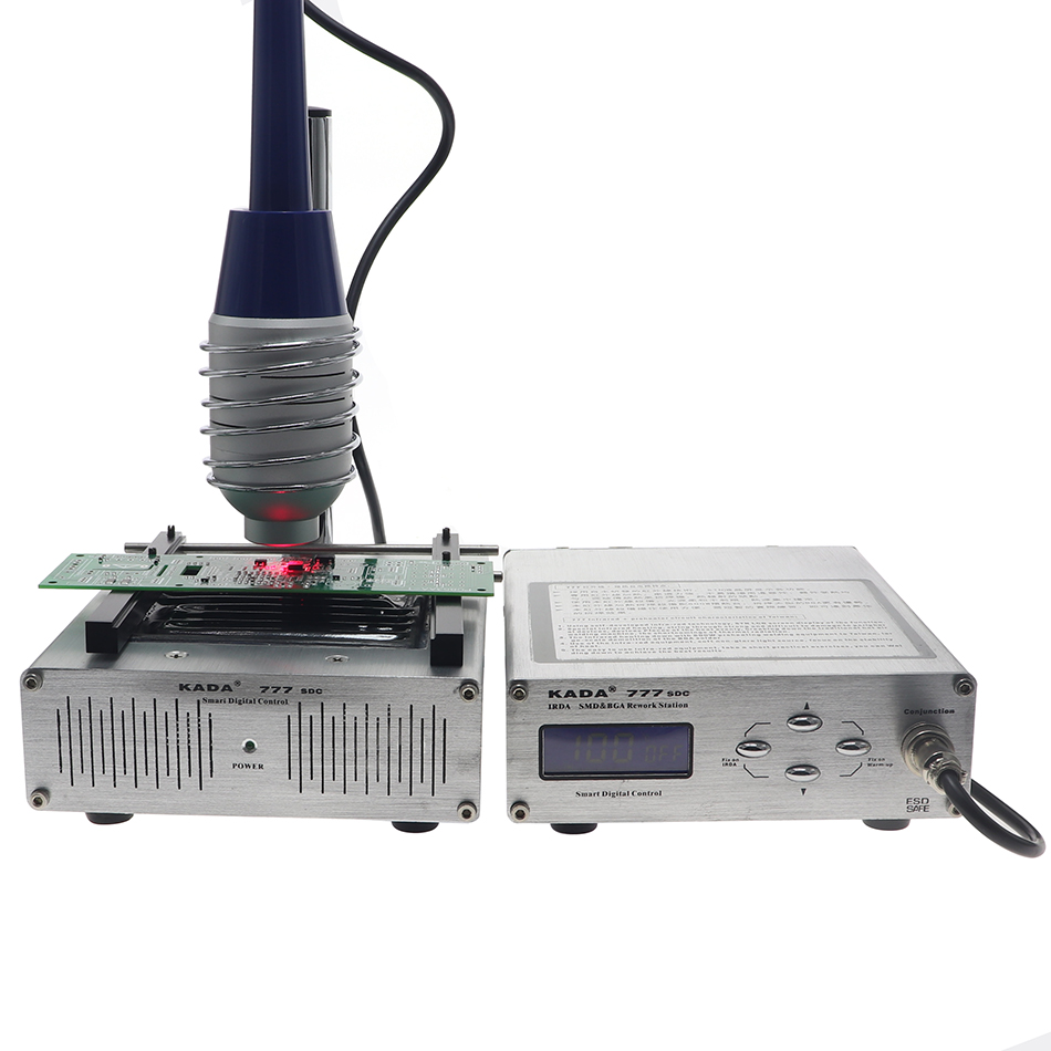 Tools : KADA 777 IRDA SMD BGA T862 infrared rework station 853 preheat station 2 in 1 infrared soldering station