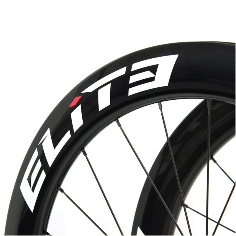Elite SLR frein à disque carbone route vélo roue système de faible résistance tubulaire pneu Tubeless 700c gravier Cyclocross roues - 5