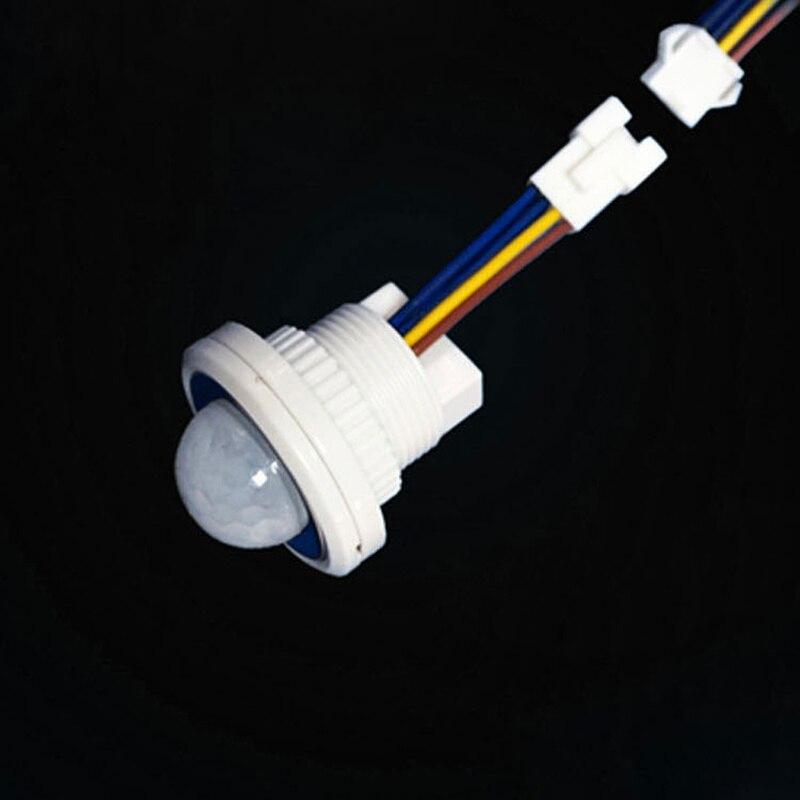 110 Degrees PIR Infrared Motion Sensor Detector Automatic 4-6M AC100-240V Security LED Light Motion Sensor Switch Outdoor 40W