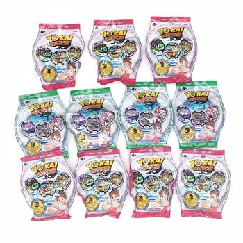 Lot of 5 Packs YO-KAI YoKai Watch Medals Series 1 2 3 4 Blind Bags Sealed NEW for kids boys