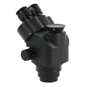 Image 3 - Simul Focal 3.5 90Xต่อเนื่องซูมกล้องจุลทรรศน์สเตอริโอTrinocular Head WF10X 20สายตายาวยางEye Guards
