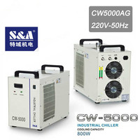 Industrial Laser Water Chiller Teyu S&A CW 5000AG for 80W 100W CO2 laser tube
