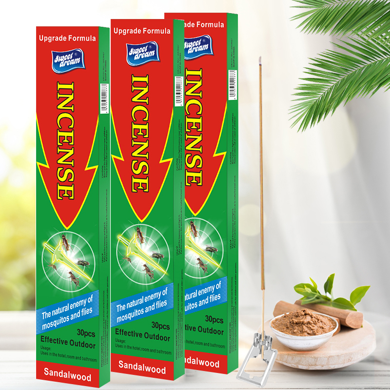 3PCS/Lot Stick Incense For Mosquito Killer Natural Incense Censer Accessories Killing Mosquito Repellent Garden Supplies