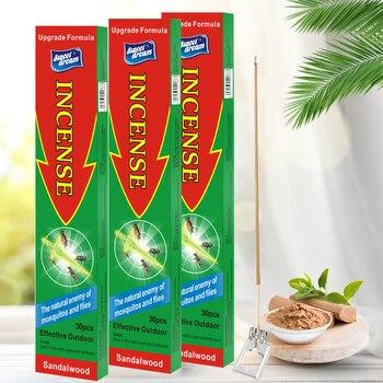 3PCS/Lot Stick Incense for Mosquito Killer Natural Incense Censer Accessories Killing Mosquito Repellent Garden Supplies цена 2017