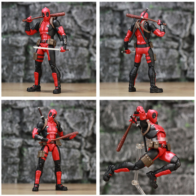 Deadpool Exclusive Action Figure with Custom Weapons 6inch. 3