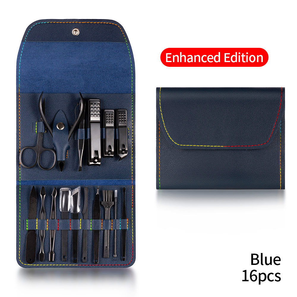 16PCS Blue