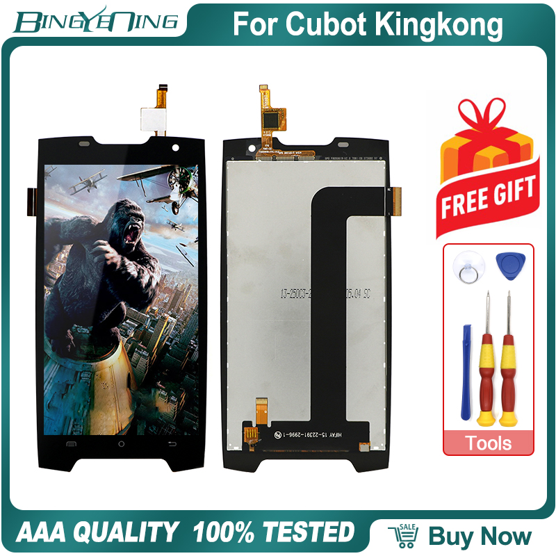 100% Original For Cubot Kingkong LCD&Touch screen Digitizer with frame display Screen module Repair Replacement Accessories PartMobile Phone LCD Screens   -