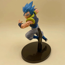 Anime Dragon Ball Z Super Saiyan God Gogeta PVC Action Figure Collectible Model doll toy 18cm 2 styles dragon ball z super saiyan nappa goku raditz ultimate form anime combat edition pvc action figure collectible toys