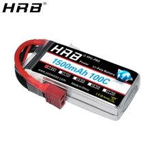 HRB 2S Pin Lipo 1500Mah 7.4V XT60 T Trưởng Khoa EC2 EC3 EC5 XT90 Nữ RC Phần 100C cho FPV Drone Máy Bay Xe Đua Thuyền Xe Tải