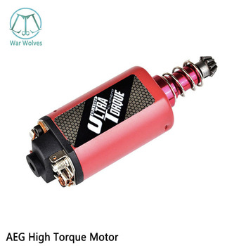 High Torque Motor 480 Long-Axis Short Axis Motor Ultra Torque Type Strong Magnet for Airsoft weapon M16/M4/MP5/G3/P90 AEG Motor фото