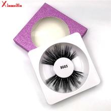 3D 25mm faux mink lashes wholesale natural long fluffy thick soft light dramatic individual makeup false eyelashes with lash box