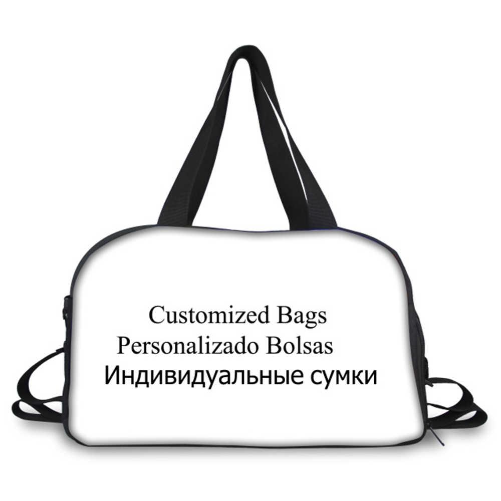 Coloranimal Draagbare Reistassen Voor Vrouwen/Mannen Aangepaste Afbeelding Print On Demand Koffer Dropshipping Tassen Vrouwtjes Plunjezakken